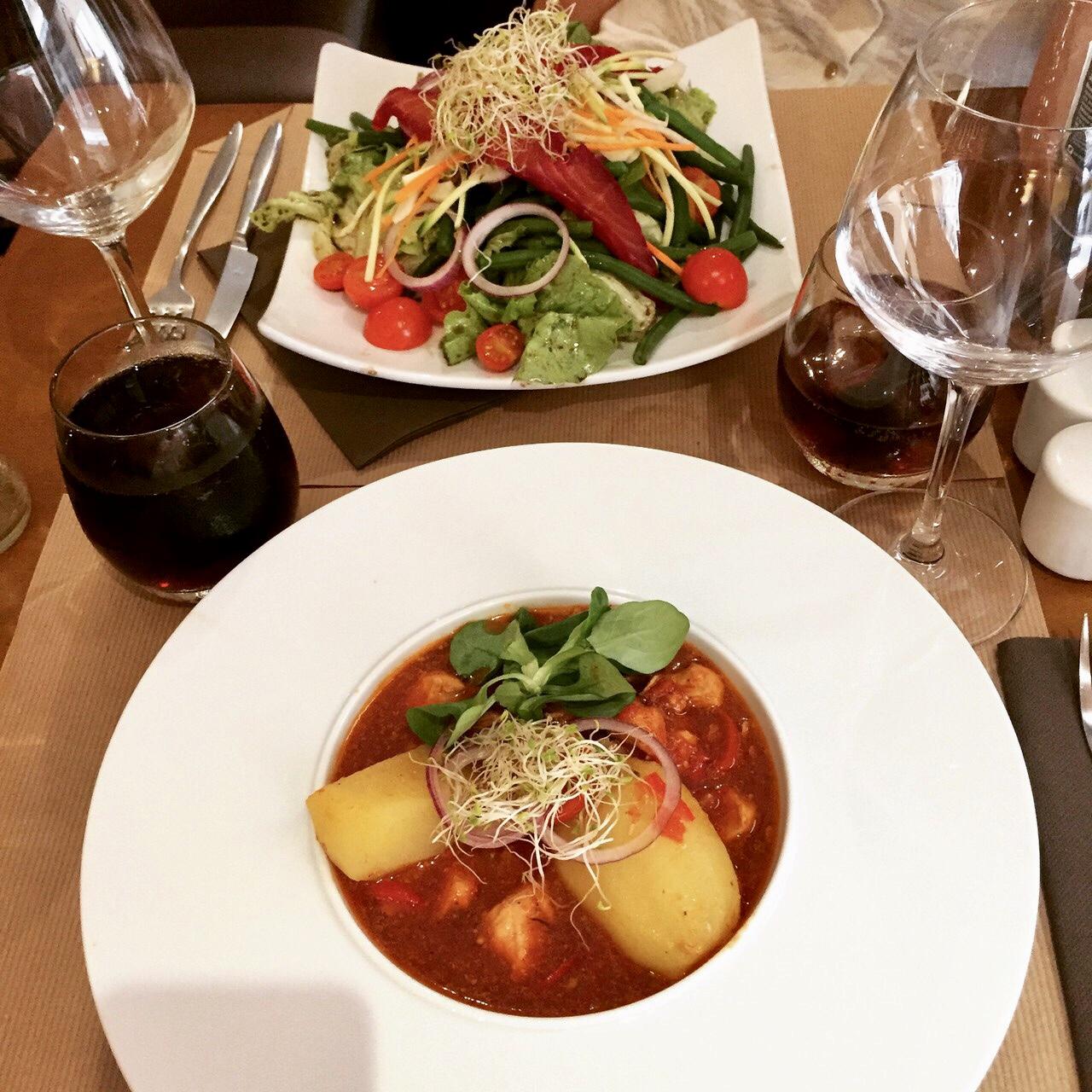 déjeuner à Lyon