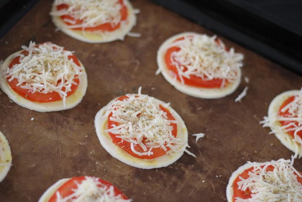 tartelettes à la tomate