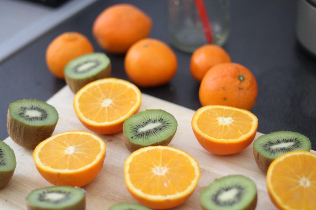 jus orange et kiwi