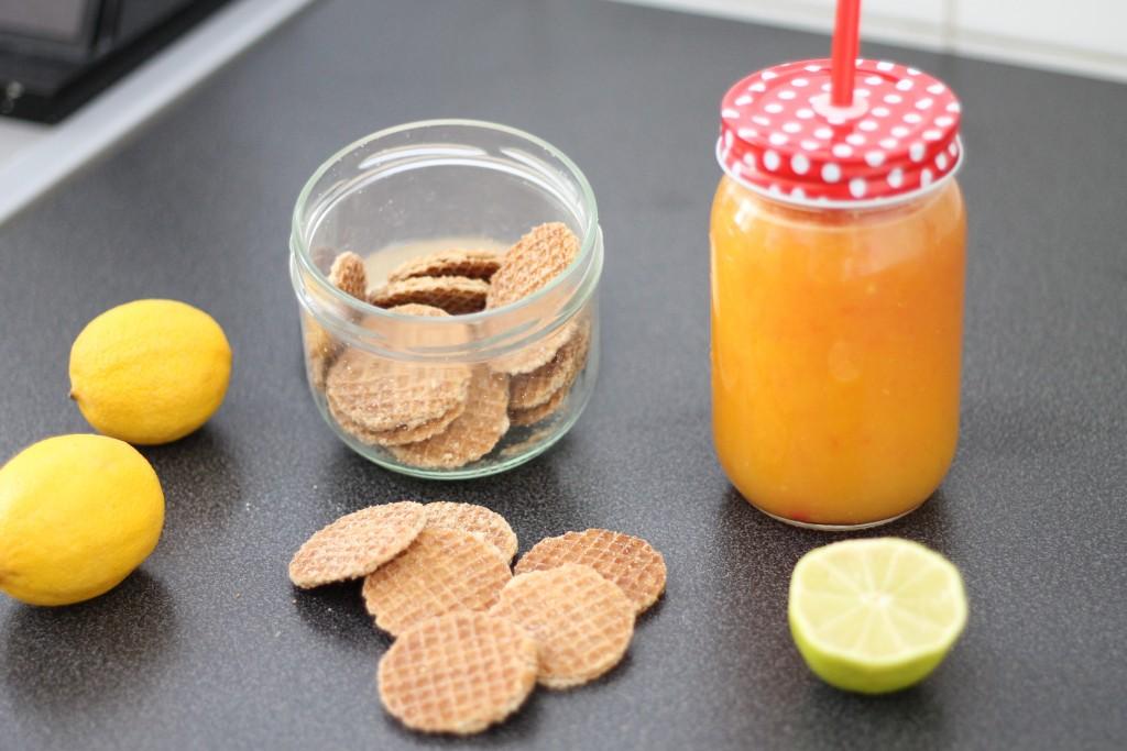 jus orange, pamplemousse et citron