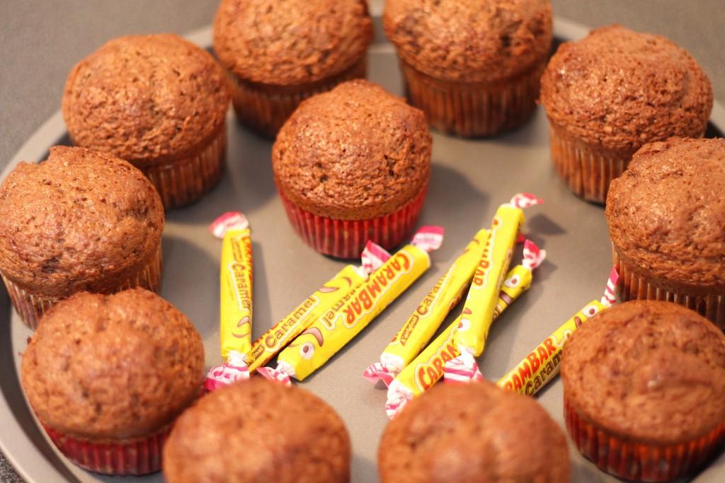 gâteau au chocolat et au carambar