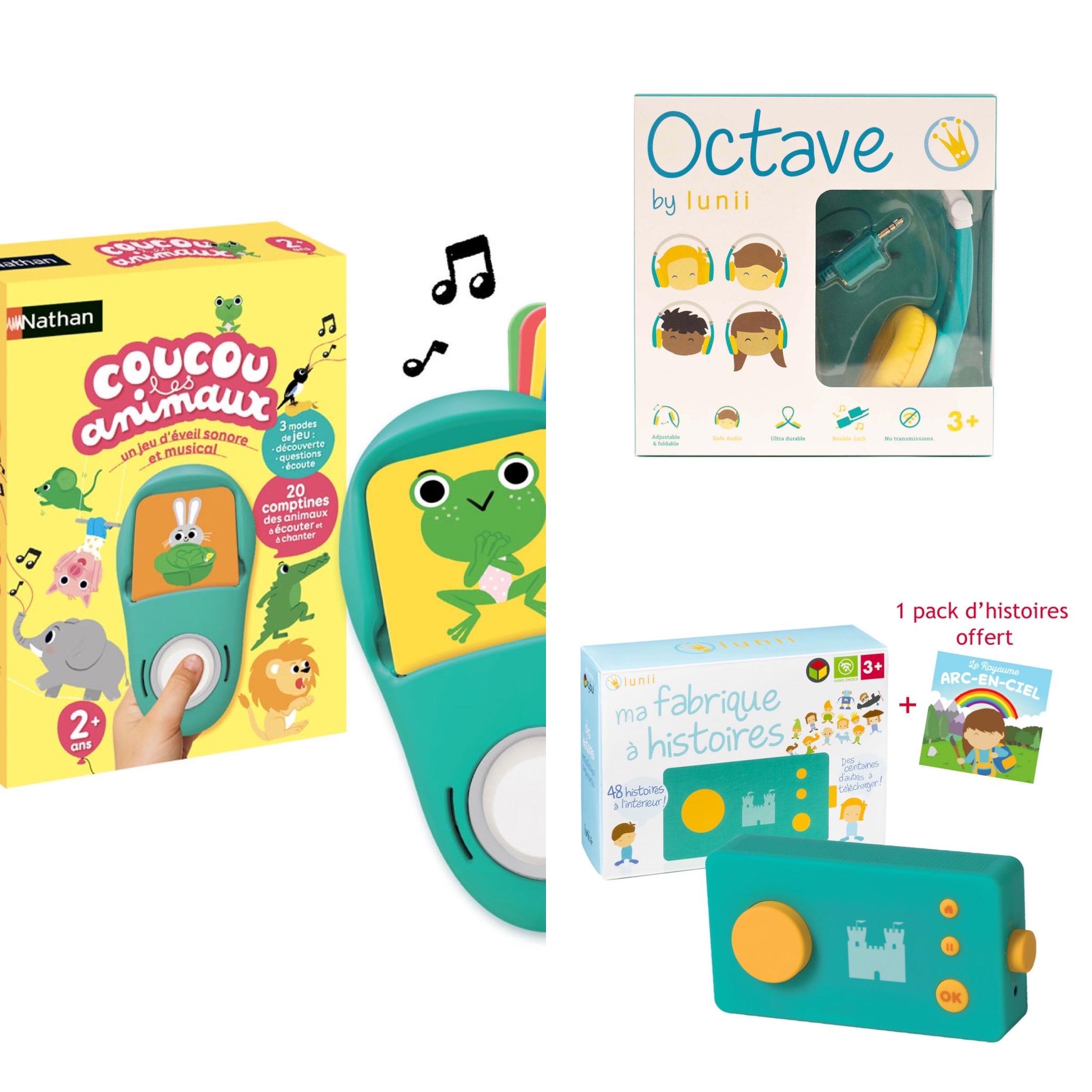 idées de cadeaux pour enfant de 2 à 3 ans