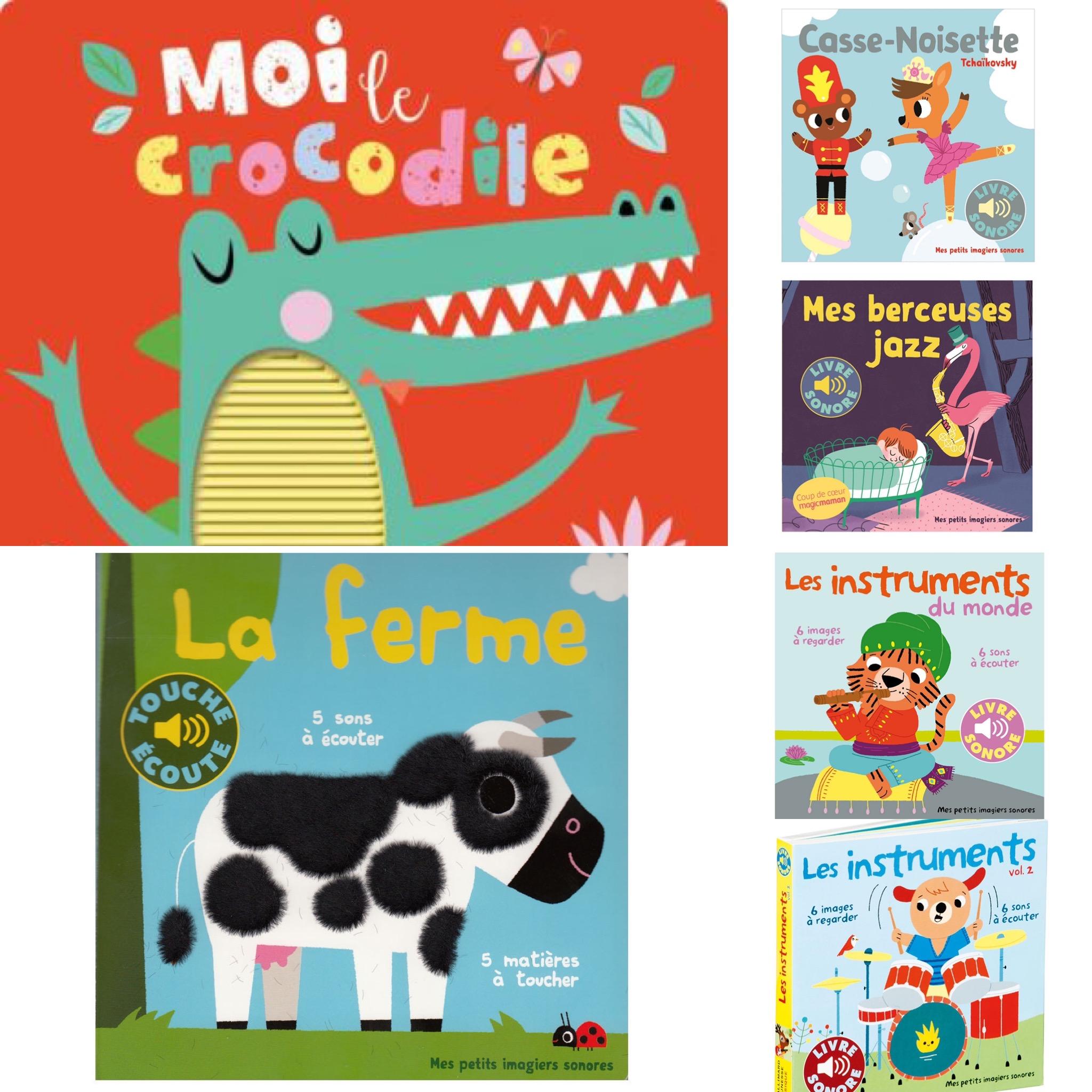 idées de cadeaux pour enfant de 6 à 12 mois